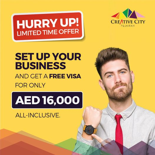 Creative City License Offer
